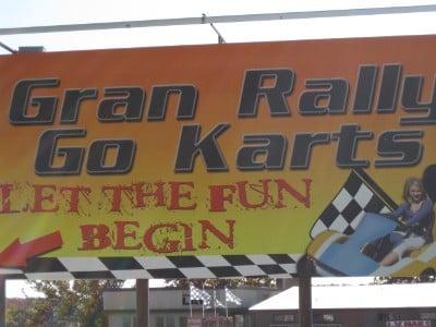 Mike Likes Gran Rally Karts