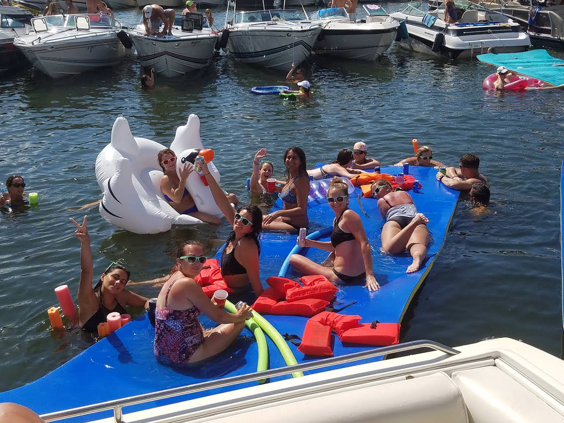 LOTO Boat Rental Water Party